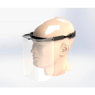 Pack de 10 viseras protectoras para rostro completo con marco de gafas y protector ligero para el Reino Unido Viseras de negocios c/ómodas con especificaciones transparentes antivaho